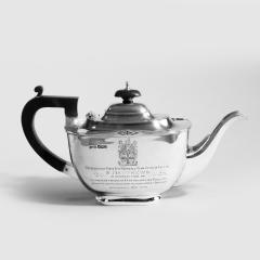 Sir Stanley Mathews four piece silver tea set - 2057511