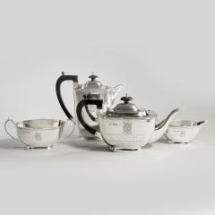 Sir Stanley Mathews four piece silver tea set - 2057512