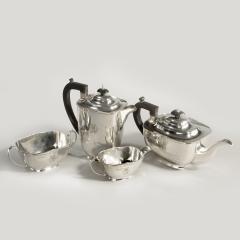 Sir Stanley Mathews four piece silver tea set - 2057513