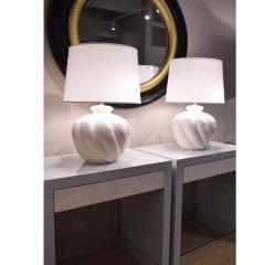 Sirmos Sirmos Pair of Stunning Ceramic Table Lamps 1970s - 2074262
