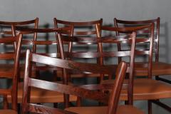 Skovby M belfabrik Skovby M belfabrik Rosewood dining chairs - 2127209