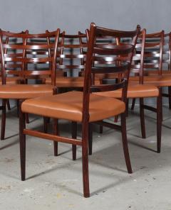 Skovby M belfabrik Skovby M belfabrik Rosewood dining chairs - 2127217