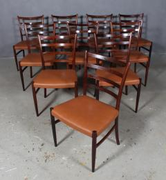 Skovby M belfabrik Skovby M belfabrik Rosewood dining chairs - 2127223