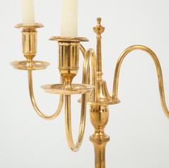 Skultuna A Pair of Swedish Skultuna Brass Candelabra Circa 1860s - 1209145