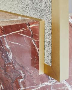 Slash Objects COEXIST STANDING MIRROR IN RED JASPER - 2064215