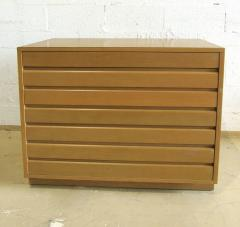 Sligh Lowry Furniture Co Pair of American Modern Bleached Mahogany Chests Nightstands Sligh Furniture - 1466930