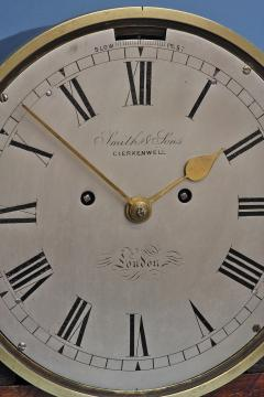 Smith Son Late Victorian Nautical Striking Bulkhead Clock Incorporating the Dog Watches  - 1276605
