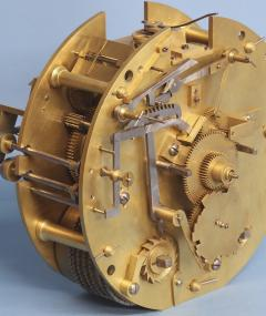 Smith Son Late Victorian Nautical Striking Bulkhead Clock Incorporating the Dog Watches  - 1276606