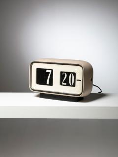 Solari Udine Cifra 5 Desk clock by Gino Valle for Solari - 1085589