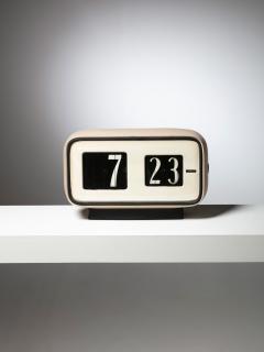 Solari Udine Cifra 5 Desk clock by Gino Valle for Solari - 1085591