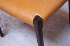 Sor M belfabrik Soro Mobelfabrik Set of Eight Danish Rosewood and Leather Dining Chairs by Sor Stolefabrik - 1174652
