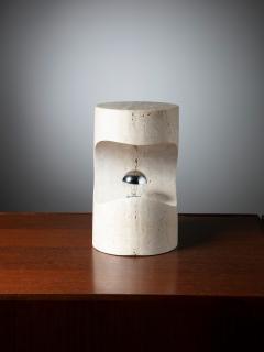Sormani Travertine Table Lamp by Giuliano Cesari for Sormani - 1392759