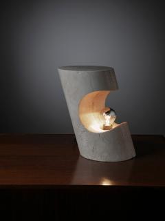 Sormani Travertine Table Lamp by Giuliano Cesari for Sormani - 1392762