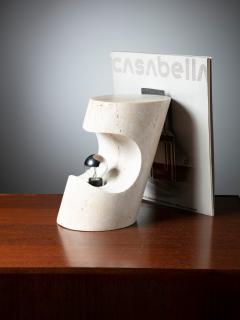 Sormani Travertine Table Lamp by Giuliano Cesari for Sormani - 1392763