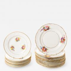 Spode Set of 12 dinner plates and 8 dessert plates - 1719467