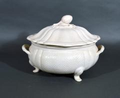 Staffordshire 18th Century Staffordshire Saltglaze Stoneware Soup Tureen Cover Stand - 1614218