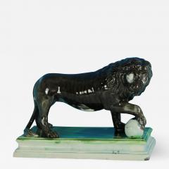 Staffordshire Ralph Wood Staffordshire Pearlware Medici Lion - 1750165