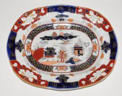 Staffordshire Set of Three Masons Graduated Platters - 768428