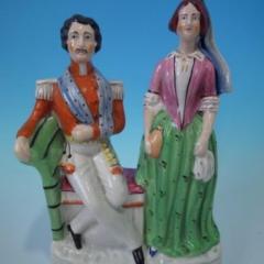 Staffordshire Staffordshire Florence Nightingale titled figure - 1747868