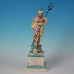 Staffordshire Staffordshire Pearlware Neptune Figure - 1747768