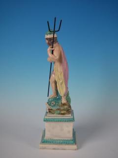 Staffordshire Staffordshire Pearlware Neptune Figure - 1747772