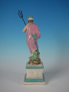 Staffordshire Staffordshire Pearlware Neptune Figure - 1747773
