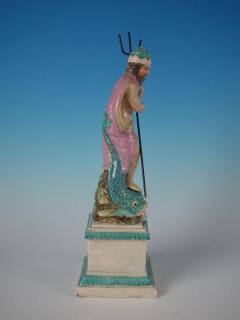Staffordshire Staffordshire Pearlware Neptune Figure - 1747774