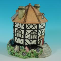 Staffordshire Staffordshire Pearlware Octagonal Cottage Pastille Burner - 2071438
