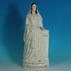 Staffordshire Staffordshire Pottery Miss Florence Nightingale Figure - 1747857