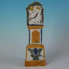 Staffordshire Staffordshire Prattware Long Case Clock Model - 1747828