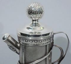 Standard Silver Company Golf Bag Cocktail Shaker Art Deco by George Berry - 124634