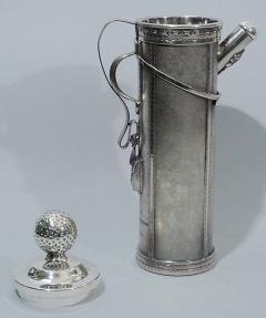 Standard Silver Company Golf Bag Cocktail Shaker Art Deco by George Berry - 124635