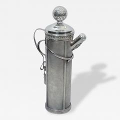 Standard Silver Company Golf Bag Cocktail Shaker Art Deco by George Berry - 126365