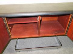 Ste Marie Laurent Fabulous Rosewood and Chrome Credenza by Ste Marie Laurent - 1684881