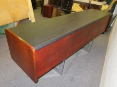Ste Marie Laurent Fabulous Rosewood and Chrome Credenza by Ste Marie Laurent - 1684882