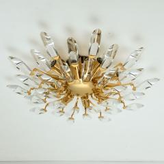 Stilkronen Set of Stilkronen Crystal and Gilded Brass Italian Light Fixtures Stilkronen - 1151092