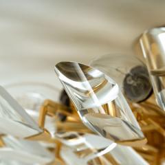 Stilkronen Set of Stilkronen Crystal and Gilded Brass Italian Light Fixtures Stilkronen - 1151094