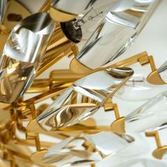 Stilkronen Set of Stilkronen Crystal and Gilded Brass Italian Light Fixtures Stilkronen - 1151095