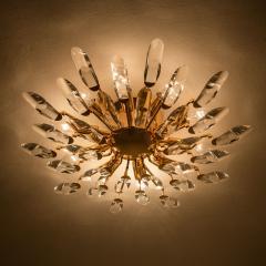 Stilkronen Set of Stilkronen Crystal and Gilded Brass Italian Light Fixtures Stilkronen - 1151100