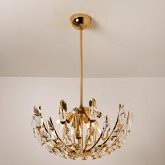 Stilkronen Set of Stilkronen Crystal and Gilded Brass Italian Light Fixtures Stilkronen - 1151138
