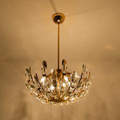 Stilkronen Set of Stilkronen Crystal and Gilded Brass Italian Light Fixtures Stilkronen - 1151148