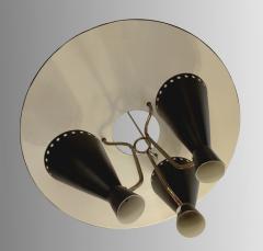 Stilnovo 1950 Italian chandelier in the taste os Stilnovo - 1515016