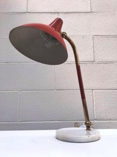 Stilnovo 1950s Stilnovo Red Table Desk Lamp - 345246