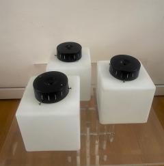 Stilnovo 3 Square Glass Flush Mount Wall Lights - 2075374