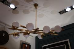 Stilnovo A Ceiling Lamp by Stilnovo Italy 1950 - 409743