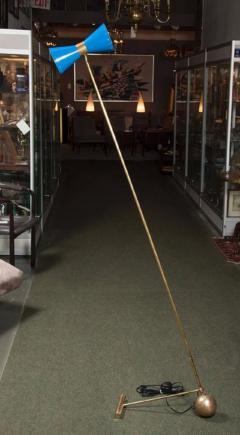 Stilnovo Beautiful Italian Counterweight Floor Lamp in the style of Stilnovo - 1679643