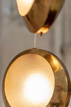 Stilnovo Brass and Glass Pendant by Stilnovo - 1594027