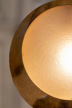Stilnovo Brass and Glass Pendant by Stilnovo - 1594052