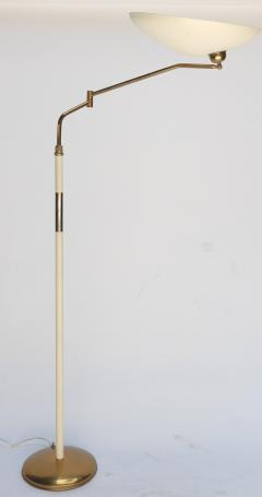 Stilnovo Metal and Brass 1960s Floor Lamp in the Style of Stilnovo - 301287