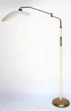 Stilnovo Metal and Brass 1960s Floor Lamp in the Style of Stilnovo - 301288